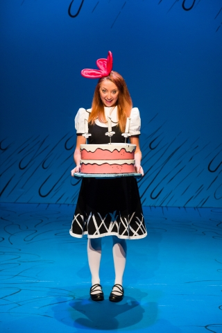 Elena Dern as Sally in Dr. Seuss's THE CAT IN THE HAT at Salt Lake Acting Company