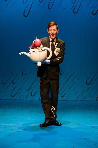 Jaten McGriff as Fish in Dr. Seuss's THE CAT IN THE HAT at Salt Lake Acting Company
