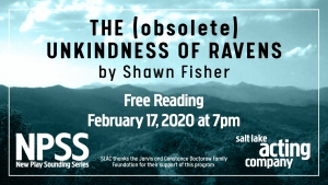 New Play Sounding Series Presents Free Reading of New Work by Shawn Fisher on February 17th
