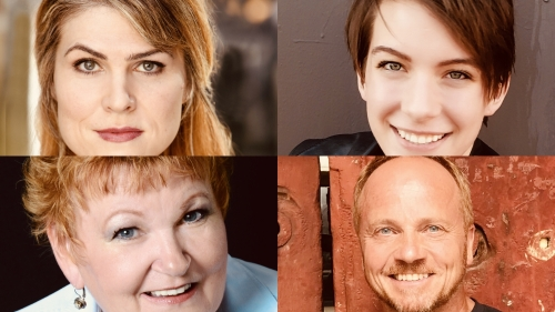 Clockwise from top left: Stacey Jenson, Rachael Merlot, Paul Mulder, and Annette Wright